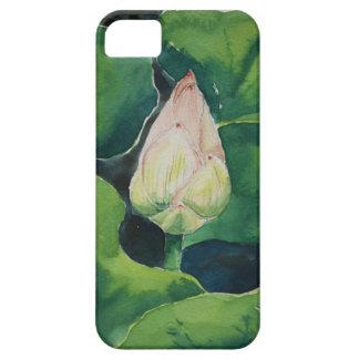Lotus watercolor iPhone 5 cover
