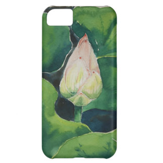Lotus watercolor cover for iPhone 5C