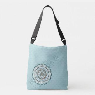 Lotus Weave All-Over-Print Bag