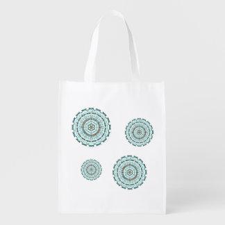 Lotus Weave Reusable Grocery Bag Market Totes