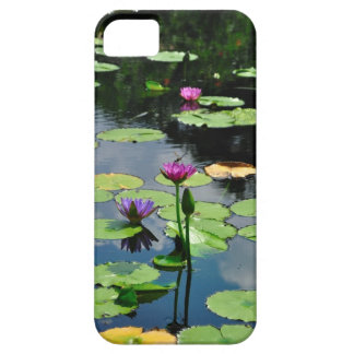 Lotus with DragonFly Case For The iPhone 5