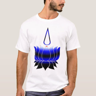 Lotus With Namam, Leather Pride T-Shirt