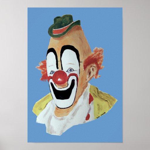 Lou Jacob Clown Print
