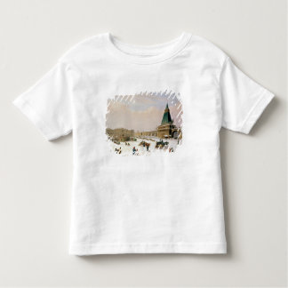 Loubyanska Square in Moscow Toddler T-Shirt