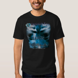 LOUD! album cover art - Obsidian Key - dark T Shirt