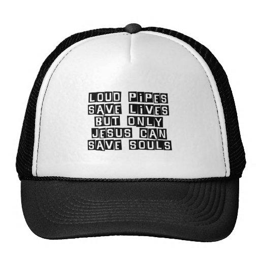 Loud Pipes Jesus Saves Hats