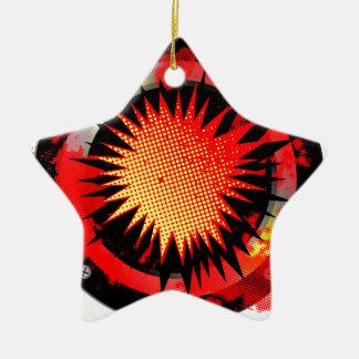 Loud Retro Speaker Christmas Ornament