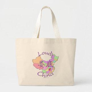 Loudi China Large Tote Bag