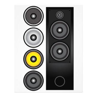 Loudspeaker 21.5 Cm X 28 Cm Flyer