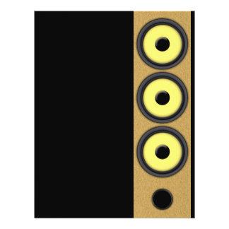 Loudspeaker System Personalized Flyer