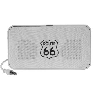 Loudspeakers Route 66 Travelling Speakers