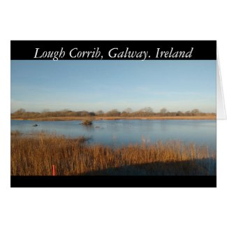 Lough Corrib, Galway.Ireland Card