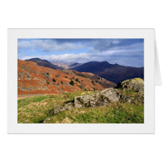 Loughrigg Fell, The Lake District Card