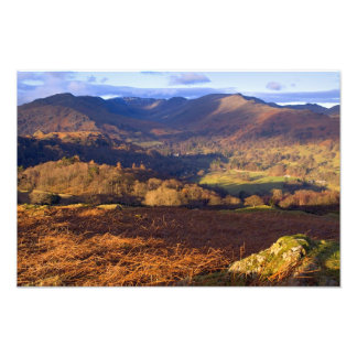 Loughrigg Fell, The Lake District Photo Print