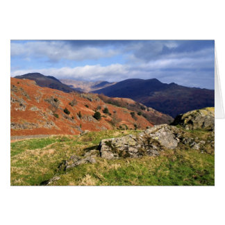 Loughrigg Fell Vista, The Lake District Card