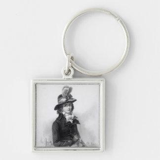 Louis Antoine de Saint-Just Key Ring
