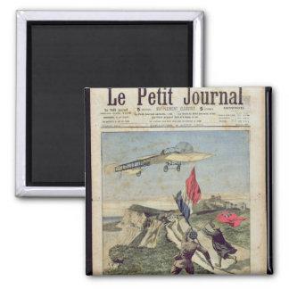Louis Bleriot  landing at Dover Magnet
