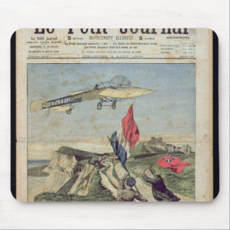 Louis Bleriot landing at Dover Mouse Pad