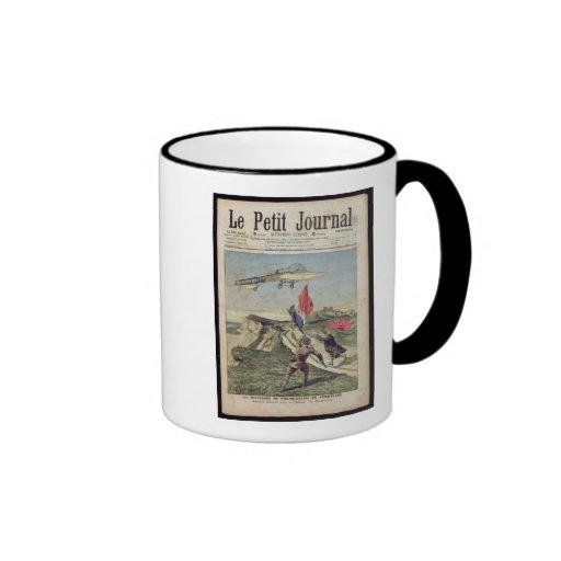 Louis Bleriot  landing at Dover Coffee Mugs