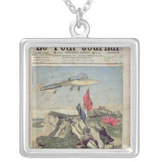 Louis Bleriot  landing at Dover Pendant