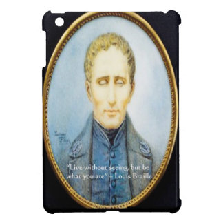 Louis Braille Famous Quote Cover For The iPad Mini