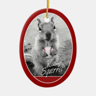 Louis Champion Rally Squirrel Christmas Ornament