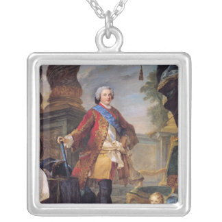 Louis  Dauphin of France Silver Plated Necklace