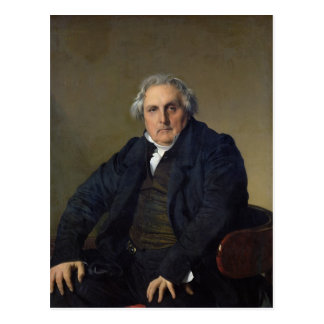 Louis-Francois Bertin  1832 Postcard