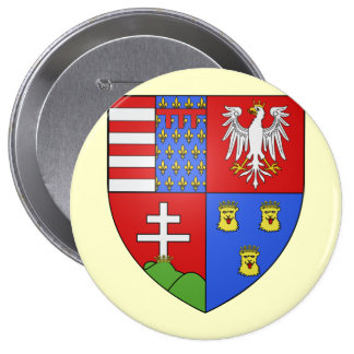Louis Ier de Hongrie, Hungary Buttons