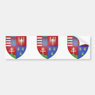 Louis Ier de Hongrie, Hungary Bumper Sticker