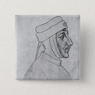 Louis II of Flanders 15 Cm Square Badge