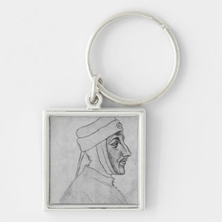 Louis II of Flanders Key Ring