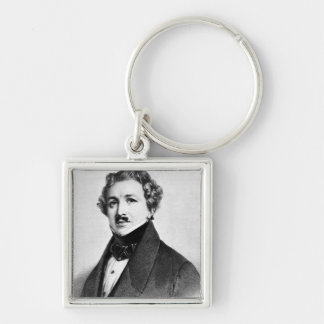 Louis Jacques Mande Daguerre Keychain