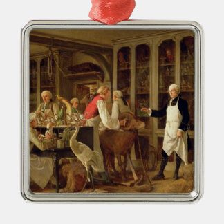 Louis Jean Marie Daubenton (1716-99) in his Labora Christmas Ornament