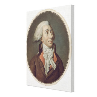 Louis-Michel Le Peletier de Saint-Fargeau  1792 Gallery Wrapped Canvas