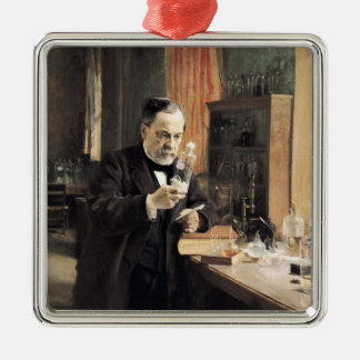 Louis Pasteur  in his Laboratory, 1885 Christmas Ornament