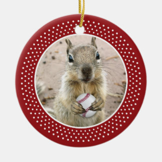 Louis Rally Squirrel Christmas Ornament