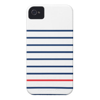 Louis Stripes Iphonecase (Barely There Case) iPhone 4 Case-Mate Cases