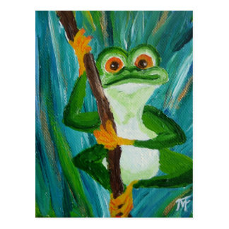 Louis the Frog Postcard
