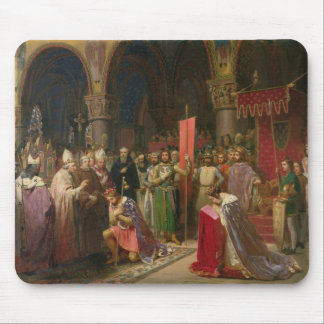 Louis VII  the Young, King of France Mouse Mat