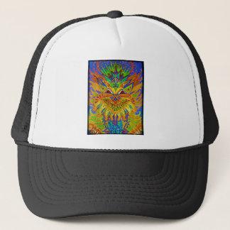 Louis Wain - Blue Paisley Cat Trucker Hat