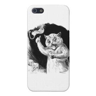 Louis Wain Cat Artwork Dr. Quack iPhone 5/5S Covers