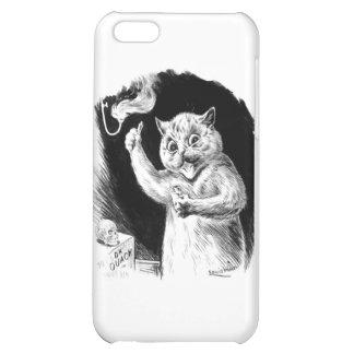 Louis Wain Cat Artwork Dr. Quack iPhone 5C Cover