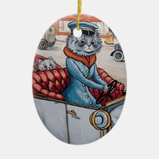 Louis Wain Cat Chaffeur Christmas Christmas Ornament