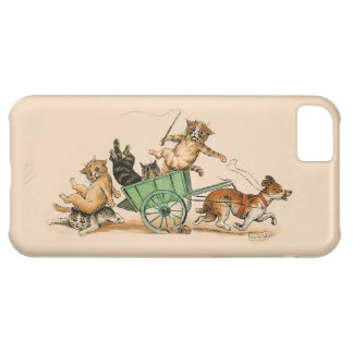 Louis Wain - Cats and Dog iPhone 5C Case