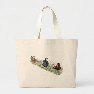 Louis Wain Cats Take a Tumble Jumbo Tote Bag