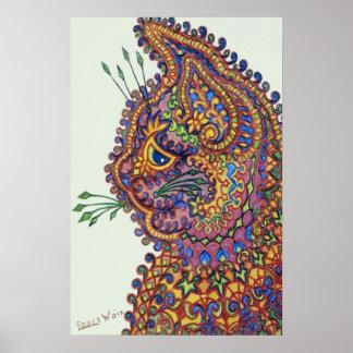 Louis Wain Fantasy Wallpaper Cat Posters