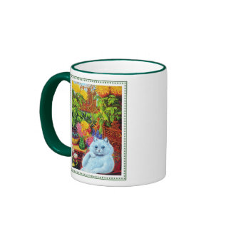 Louis Wain - The Anthropomorphic Cat Ringer Mug