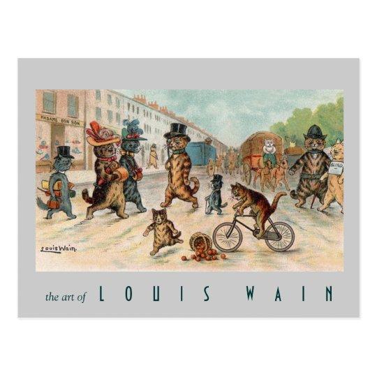 Louis Wain - Town Cats - Vintage Art