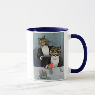 Louis Wain- Tuxedo-Wearing Cats - Cute Vintage Art